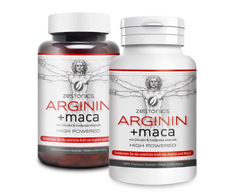 Zestonics Arginin + Maca